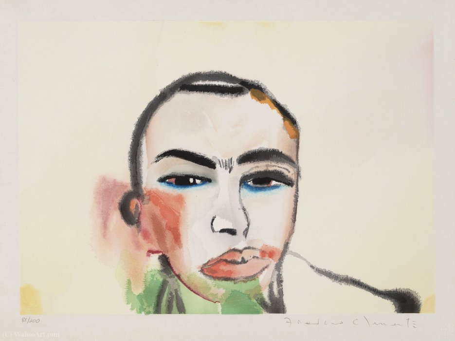 Untitled por Francesco Clemente