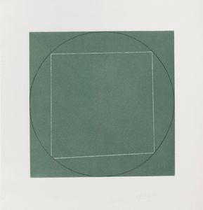 Robert Mangold - Untitled de Sete aquatints