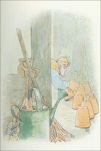Beatrix Potter - Peter 19a coelho - (11x15)