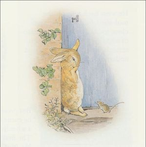 Beatrix Potter - Peter 23a coelho - (11x11)