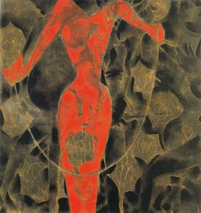 Francesco Clemente - Untitled (641)