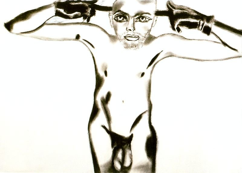 Untitled (797) por Francesco Clemente