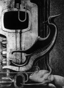 H.R. Giger - HR Giger biomechanoid - (007)