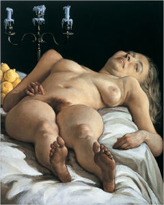 John Currin - Nudeonatable (2001)