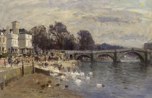 Edward Seago - Ponte Richmond