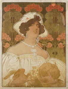 Henri Privat-Livemont - Untitled , (109 x 83 cm) (1901)