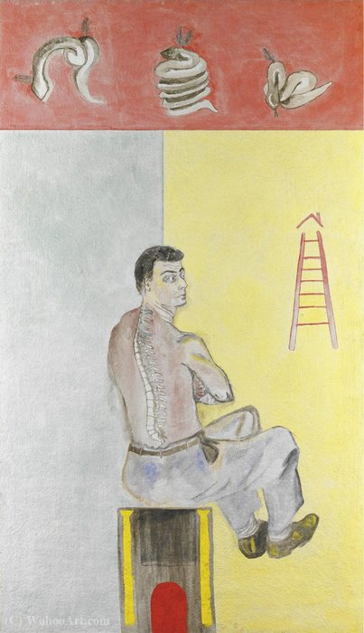 Untitled (605) por Francesco Clemente