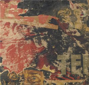 Mimmo Rotella - Untitled (151)