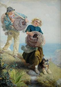 Alfred Downing Fripp - Os jovens shrimpers