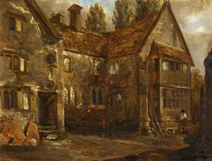 Alfred Provis - North Front de Easton Piercy Manor House, Wiltshire