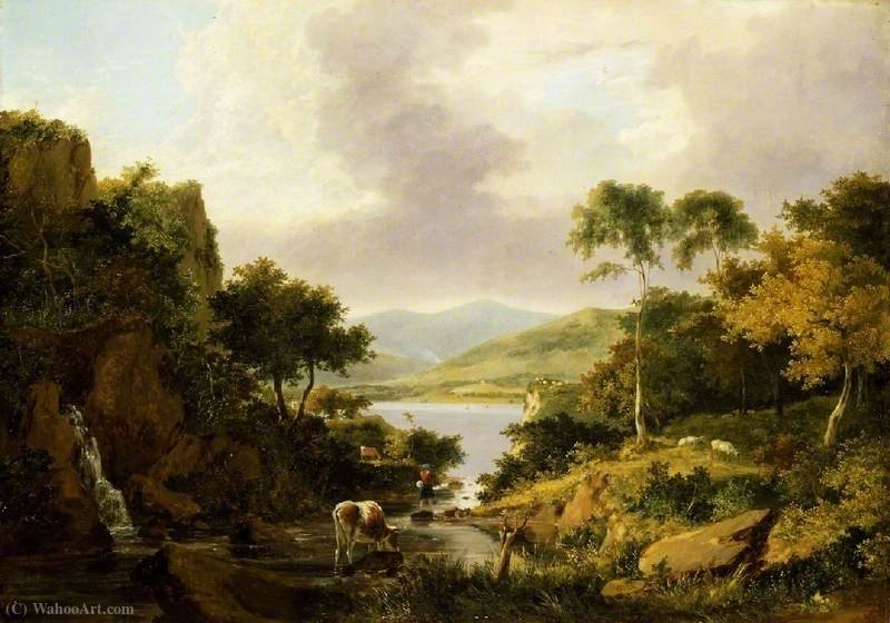 Loch Etive, Argyllshire por George Vincent (1796-1831, United Kingdom)