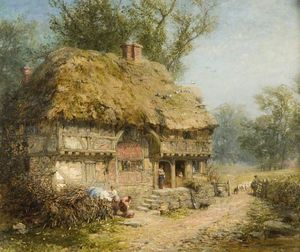 James John Hill - Perto de Stratford-upon-Avon