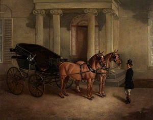 John Alfred Wheeler - Rode Manor, Transporte e Pair no Porch