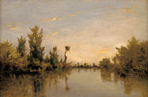 Karl Pierre Daubigny - Margens do Sena