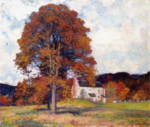 Robert William Vonnoh - Autumn encosta e meu estúdio