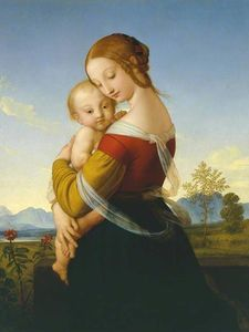 William Dyce - Madonna and Child