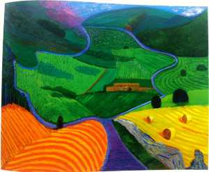 David Hockney - Norte yorkshire