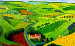 David Hockney - real ACADEMIA  dos  Artes