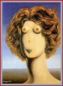 Rene Magritte - Lo stupo .