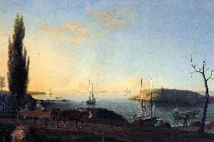 Fitz Hugh Lane - Boa harbour beach , Cabo Ann