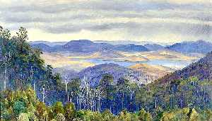Marianne North - Lago Biwa , No japão