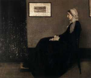 James Abbott Mcneill Whistler - mãe do artista
