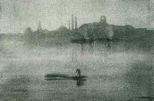 James Abbott Mcneill Whistler - Noturno a tamisa em battersea