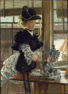 James Jacques Joseph Tissot - chá