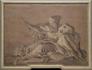 Giandomenico Tiepolo - A Europa
