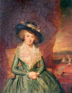 William Beechey - Isabel Taylor ( nascida Barnby )