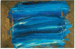 Howard Hodgkin - Azul Escuro Mar