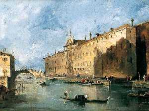 Francesco Lazzaro Guardi - o 'Rio dei mendicanti'