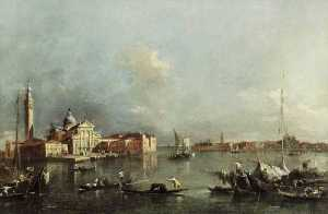 Francesco Lazzaro Guardi - vista de veneza
