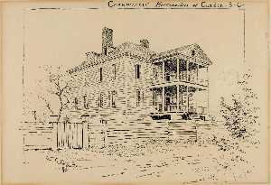 Ernest Clifford Peixotto - Cornwallace's Sede , Camden , carolina do sul