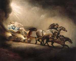 George Stubbs - A queda do Phaeton