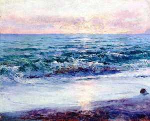 William Blair Bruce - mediterrâneo em ventimiglia
