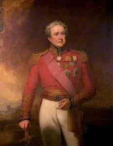 George Clint - major general sir robert henry Venda , Segundo infantaria leve