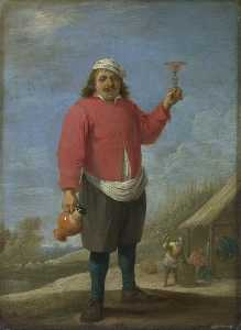 David The Younger Teniers - outono
