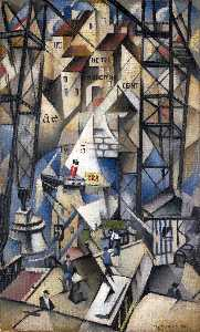Christopher Richard Wynne Nevinson - Le vieux abrigo