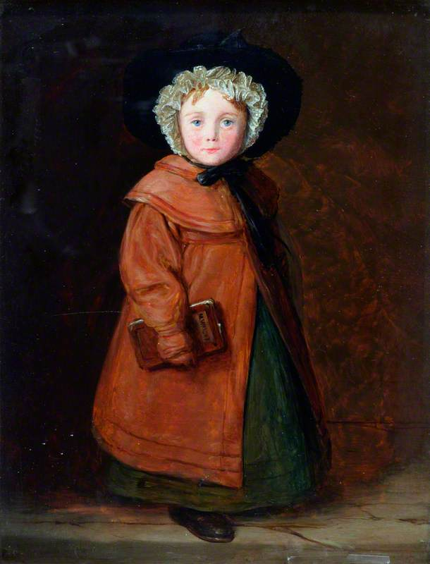 Maria Wright , o Carpenter's Filha, 1828 por William Mulready The Younger (1786-1863, Ireland) | WahooArt.com