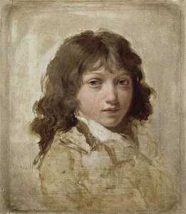 Louis Léopold Boilly - RETRATO D'UN FILS BOILLY