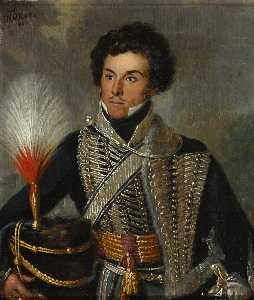 William Allan - Um Oficial do 18th Regimento dos ( Claro ) Dragões ( Hussardos ) , c . 1815