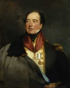 Margaret Sarah Carpenter - Capitão sir christopher Couve ( 1770–1836 )
