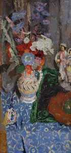 William George Gillies - natureza flores e  Figuras