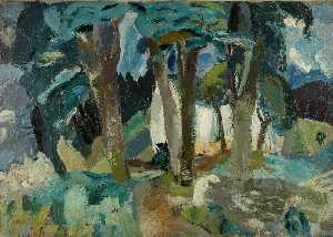William George Gillies - Paisagem , Longniddry