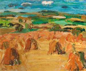 William George Gillies - CAMPO DE COLHEITA