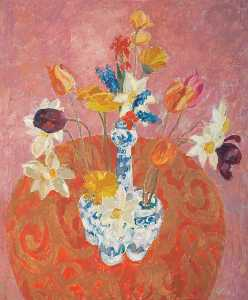 William George Gillies - o tulipa recipiente