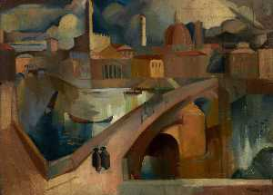 William George Gillies - em Florença