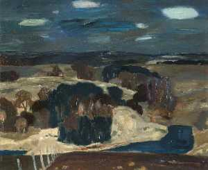 William George Gillies - Midlothian Paisagem