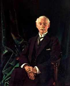 William Newenham Montague Orpen - sir charles algernon parsons ( 1854–1931 )